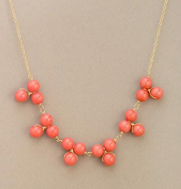Astor Cluster Bib Necklace