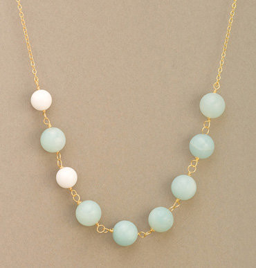Astor Bead Strand Necklace