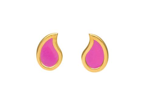 Diversey Enamel Post Earrings