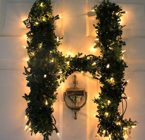 Diy Letter Wreath Design Darling