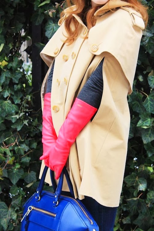 trench cape coat leslie tessler