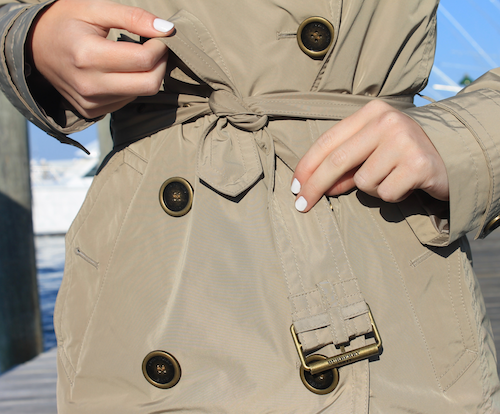 burberry balmoral packable trench coat