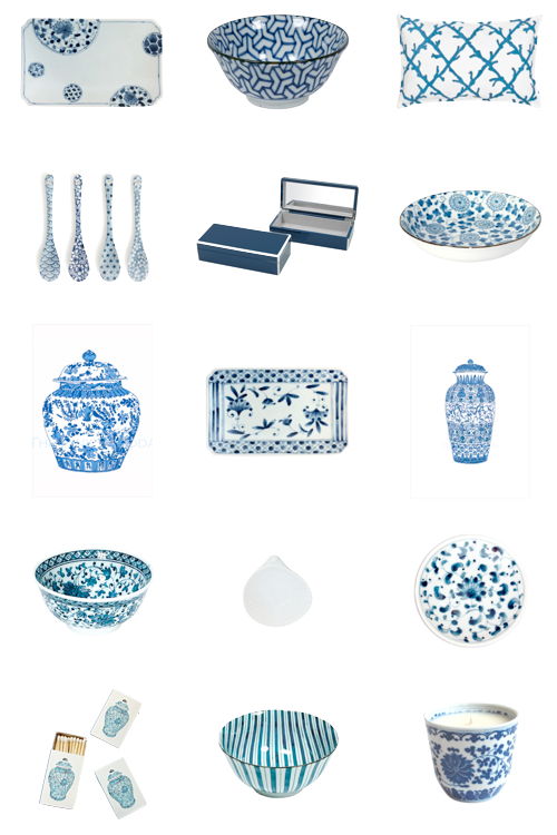 design darling blue and white