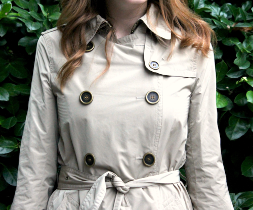 burberry brit balmoral packable trench