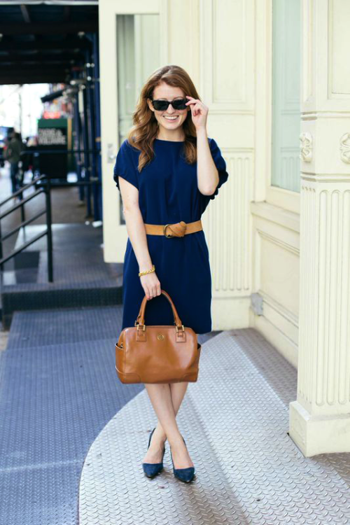 cynthia steffe navy dress