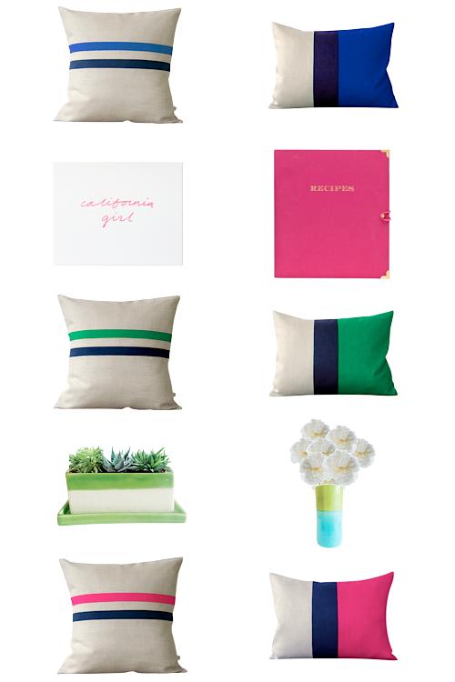 design darling pillows