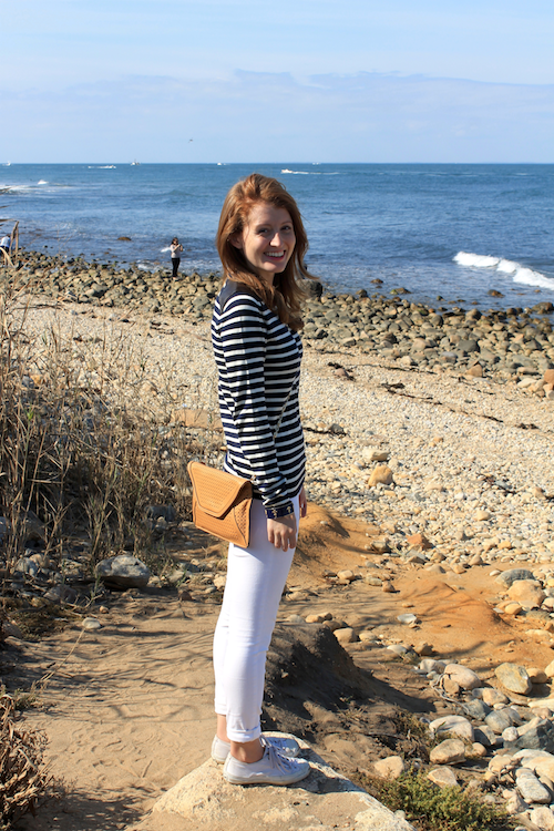 j.mclaughlin striped shirt
