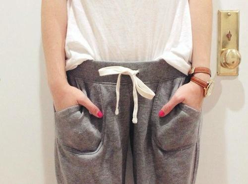old navy gray sweatpants