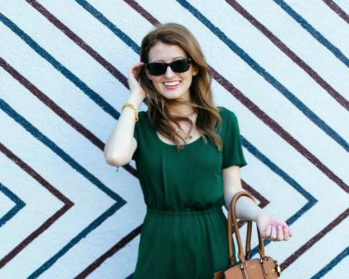 piol green dress
