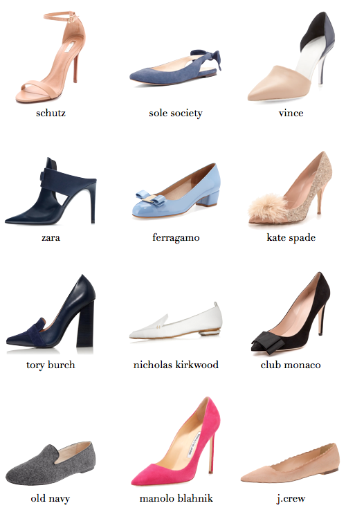ultimate shoe wishlist