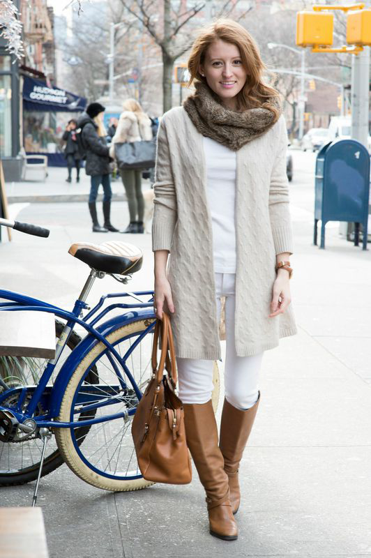 wonderful white jeans outfit with boots 11