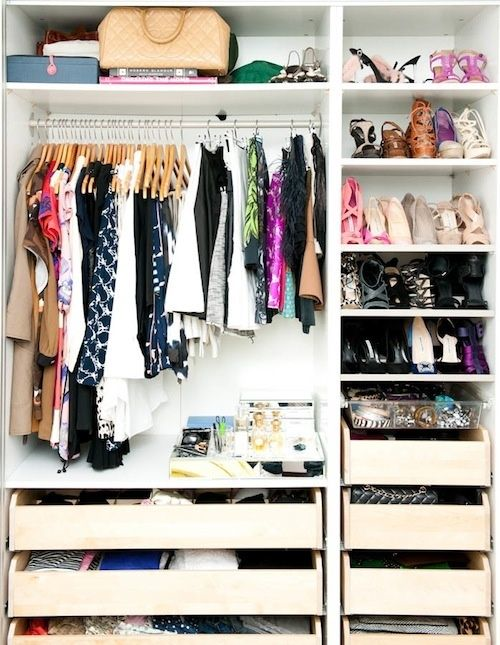 how to clean out your closet with konmari