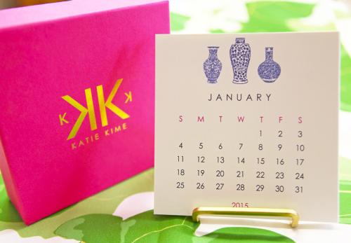 katie kime 2015 desk calendar