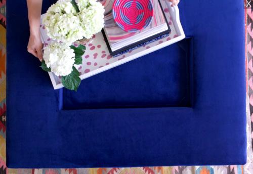 katie kime removable tray ottoman