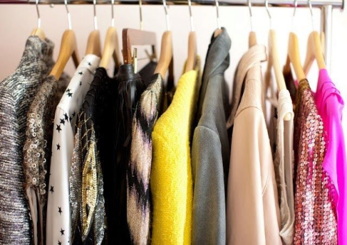 konmari method to clean out your closet