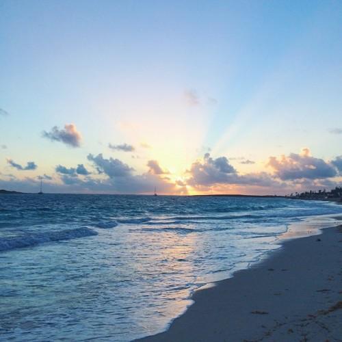 sunrise orient bay beach st martin