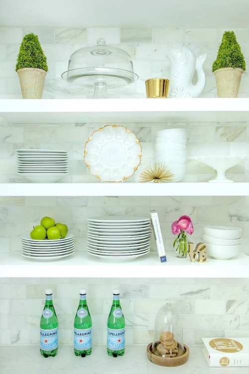 caitlin wilson kitchen open shelving rue magazine