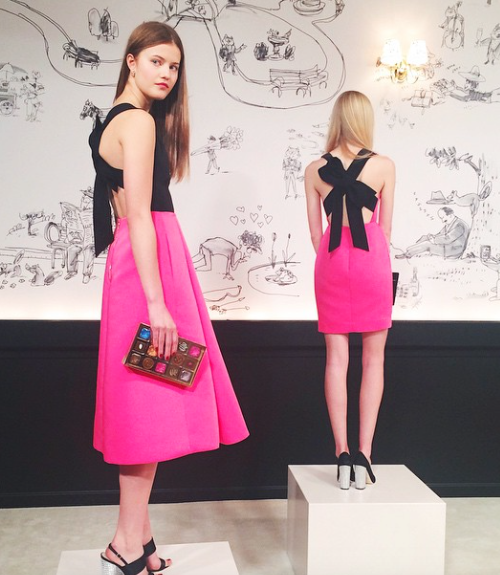 kate spade bow dress fall 2015