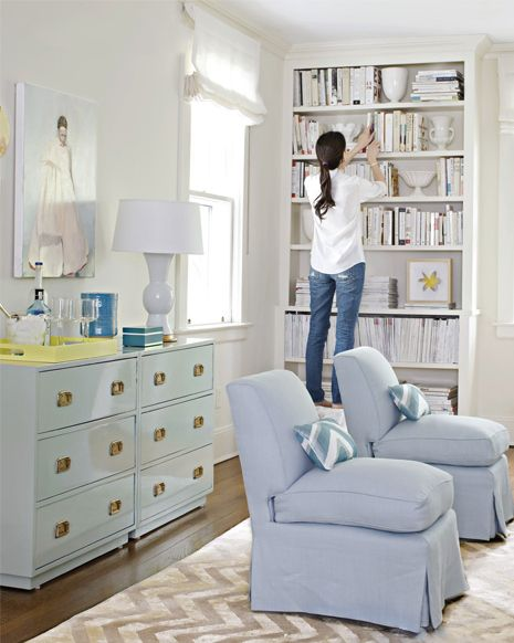 all white bookshelves campaign dresser
