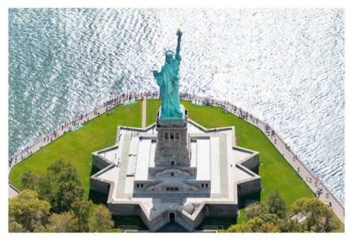 gray malin statue of liberty