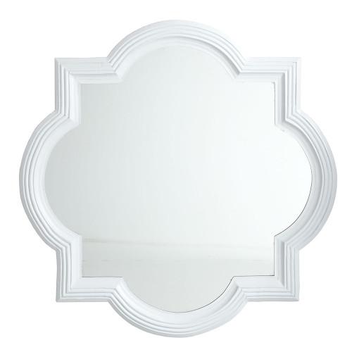 wisteria quatrefoil mirror