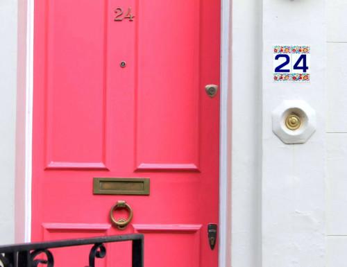 notting hill london 24 portobello road neon hot pink door