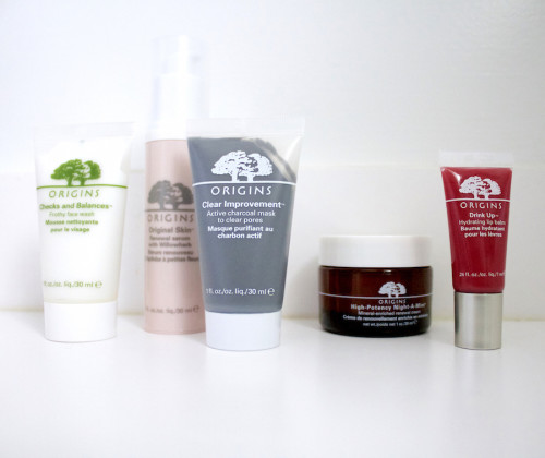 origins skincare products