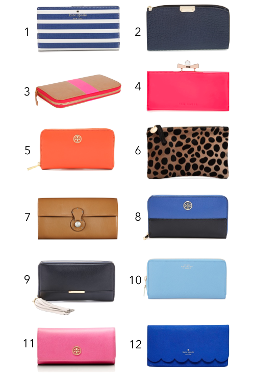 12 chic wallets for women