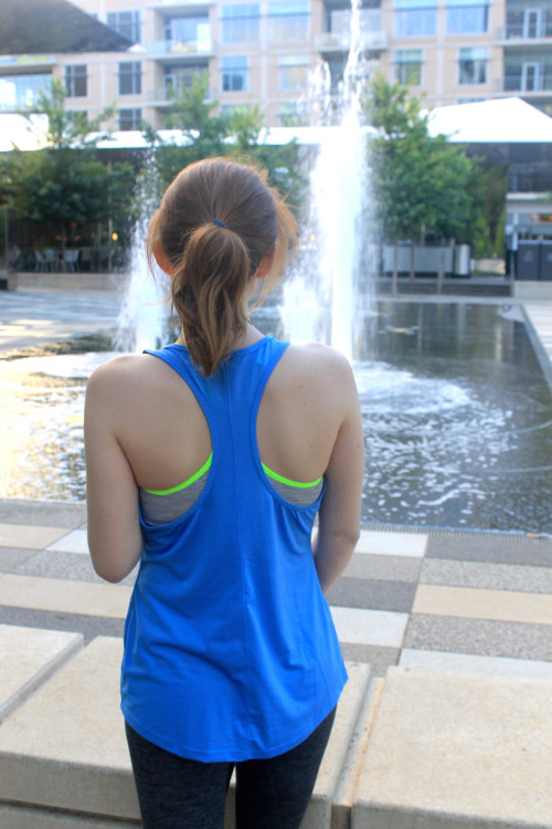 old navy racerback workout tank