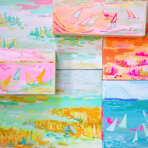 blakely little sailboat paintings