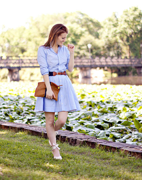ralph lauren shirtdress