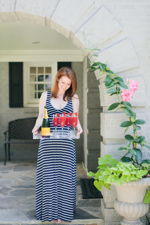 design darling striped maxi dress
