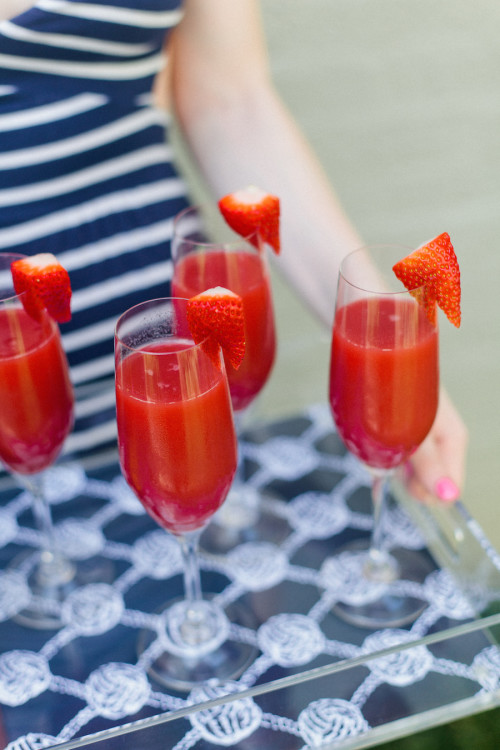 design darling strawberry champagne