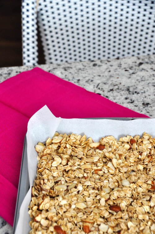 easy granola recipe design darling