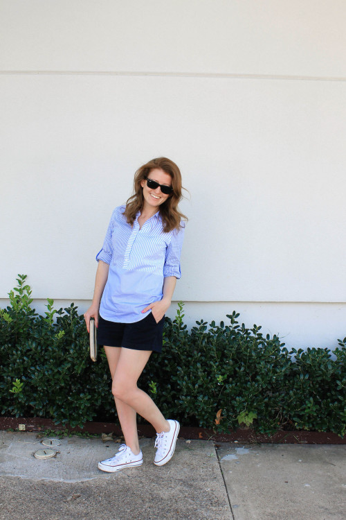 j.crew chino shorts with converse sneakers