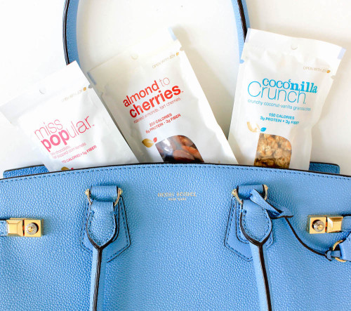 nourish snacks henri bendel carlyle tote miss popular almond to cherries coconilla crunch