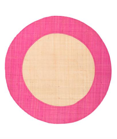 Raffia_Placemat_-_Pink_large