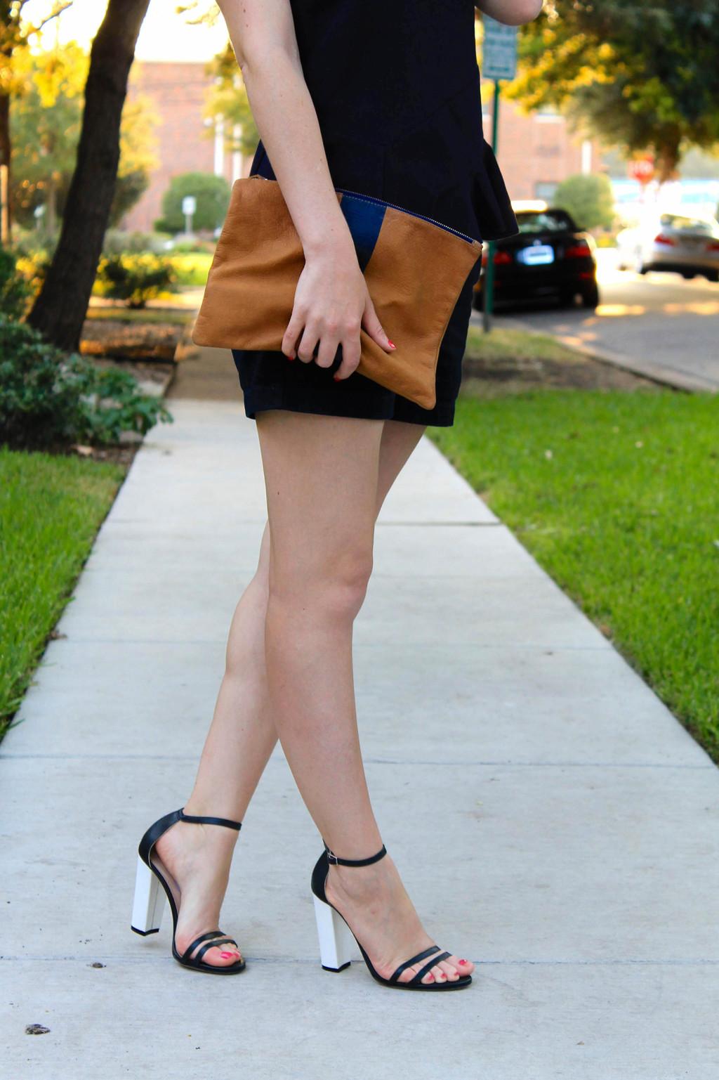clare vivier flat clutch emerson fry heels