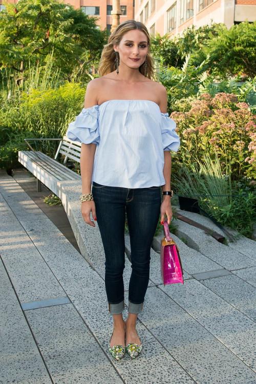 Olivia-Palermo-Wearing-Off--Shoulder-Top