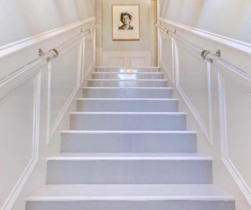 lucite stair rail