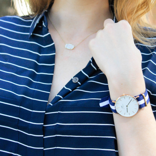 daniel wellington rose gold watch