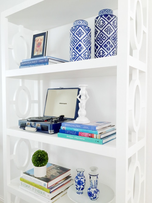 wisteria bookshelves