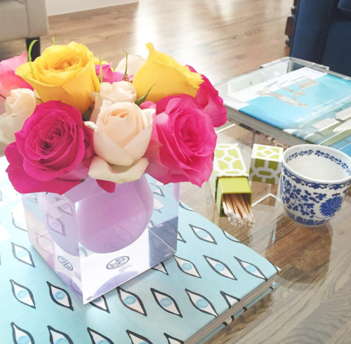 design darling coffee table styling