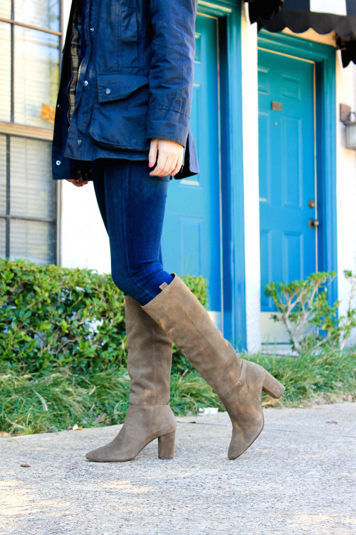j.crew suede boots
