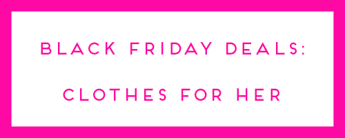 black friday deals women's clothing