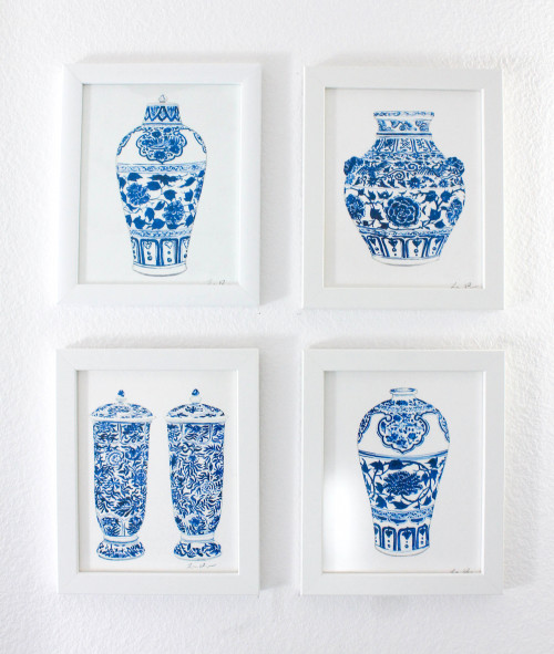 design darling ginger jar prints