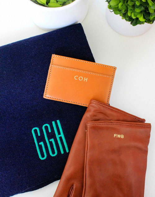 monogrammed gifts for guys