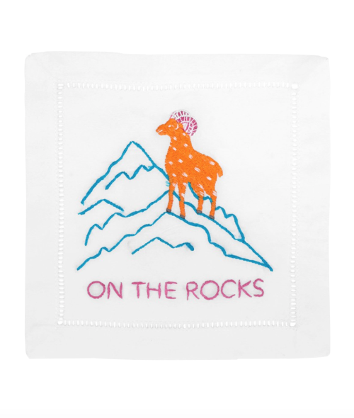 on_the_rocks_cocktail_napkins
