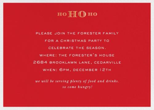 paperless post christmas party invitation