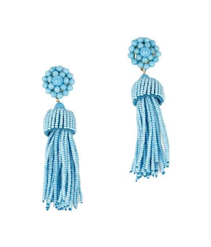 turquoise_tassel_earrings